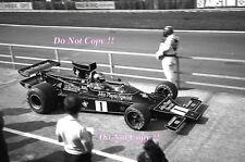 RONNIE PETERSON LOTUS JPS 76 F1 International TROPHY RACE 1974 fotografia 1
