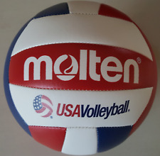 NEW Molten MS500-3 Camp Volleyball Red White Blue  FREE SHIPPING in USA