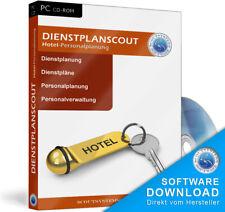 Dienstplanscout Hotel Dienstplaner,Personal Software,Hotel-Programm,Mitarbeiter