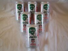 Diet Coca-Cola 1992 NFL Collector Series, Six New York Jets Cans
