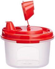 Tupperware MAGIC OIL FLOW container / dispenser-200 ML-Red color cap-NEW!