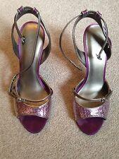 Nine West Purple Heels Size 4