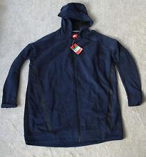 Nike Gr. XL Sweatshirt Jacke mit Kaputze lang blau Neu mit Etikett Sportjacke