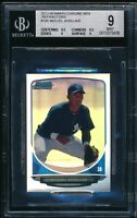 MIGUEL ANDUJAR 1st 2013 Bowman Chrome MINI REFRACTOR #/125 Rookie RC BGS 9 MINT