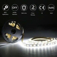 10cm 5m LED Stripe 12 VOLT Cable Lighting 3M Warm White White 2800K 9,99 €//M