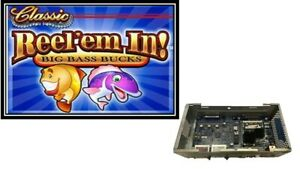 WILLIAMS  BB1 CPU WITH REEL'EM IN! SOFTWARE & DUAL SCREEN TOP CARD ALSO INCLUDED