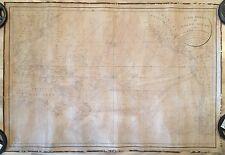 Carte Réduite du Grand Ocean compris entre l'aise et l'Amérique dated 1818