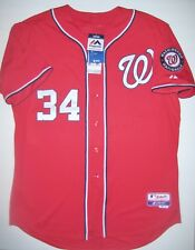 New Authentic Washington Nationals Bryce Harper Majestic Athletic Jersey 52 XXL