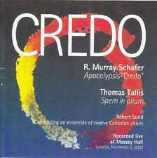 Robert Sund - Credo: Schafer & Tallis [New CD]