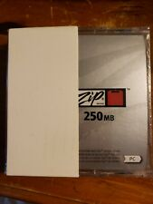 Iomega Zip Disk 250MB PC Formatted Classic Vintage Data Storage Media