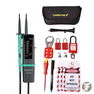 Kewtech KT1710 Voltage Continuity Tester with MCB/RCD Lock Out Kit LOS-K1
