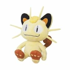 1x Genuine Sanei (PP37) Meowth Stuffed Plush Doll Pokemon Go All Star Collection