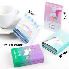 Unicorn Cartoon 6 Folding Memo Notepad Note Book Memo Pad Sticky Notes