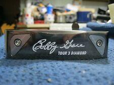 "Bobby Grace Tour 3 Diamond Blade Putter 35"" Steel Shaft + Cover Brand New"