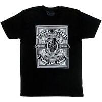 Genuine Fender Guitars Forever Loud Tee Men's T-Shirt - BLACK - M, MEDIUM