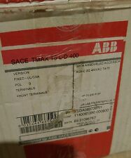 NEW ABB T5 TMAX T5L-D 100K 3 POLE 400A 600V MOLDED CASE SWITCH T5L600DW