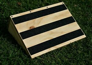 Incline Slant Board -Rehab- Weights-Squats. 400mm WIDE RECTANGULAR - Aussie Made