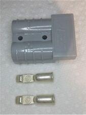 Anderson SB 50 Gray 2-Pole Power Connector: #6 Gauge #6319