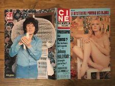 Ciné Revue n 6 1976 Paola QUATTRINI Johnny HALLYDAY J HELBLING Francoise FABIAN