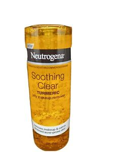 Neutrogena Soothing Clear Turmeric Jelly Makeup Remover Free shipping in USA!!
