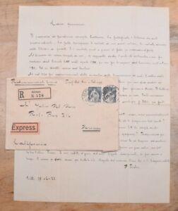 Mayfairstamps Switzerland 1922 Schwyz to Downey CA Express Cover & Letter wwo874