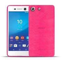 Schutz Hülle für Sony Xperia M5 Silikon Case Handy Tasche Cover Bumper