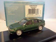Vauxhall VECTRA-Rio Verde 1:76 Oxford pressofusione Modello Auto British