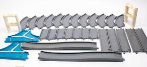 BUNDLE Tomy Thomas & Friends Plarail Trackmaster Grey Road Straights Curves