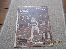 JOURNAL MIROIR DES SPORTS BUT CLUB 700 28 juillet 1958 jocelyn delecour