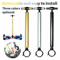 Portable Handle Bar Retractable Rod Armrest Handrail for 6.5 10 Electric Scooter