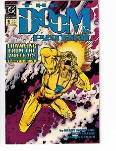 The Doom Patrol #19 1st Grant Morrison 1st Crazy Jane DC 1989 Nice Copy