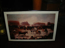 Superb Artwork Of Mexican Or Spanish Bullfighting-Horses & Bullfighters-LQQK