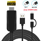 1080P Type-C USB to HDMI Cable Adapter Phone to HDTV For Android/Samsung/MacBook