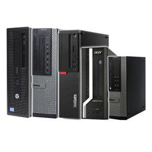 FAST COMPUTER i5 4th QUAD SFF DESKTOP TOWER PC 8GB RAM 120GB SSD WINDOWS 10