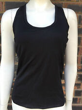 Foot Locker E-Dry Ladies Sport Exercise Active Wear Top Size S Black