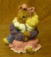Boyds Bearstones #228473 AMY and SAMUEL...CHERISHED MOMENTS 1st Ed. Retail Store