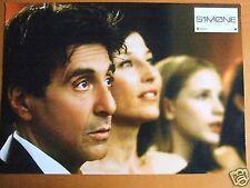 AL PACINO PHOTO LOBBY CARD SIMONE