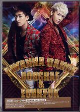 Donghae & Eunhyuk: I wanna Dance (2013) Japan Korea /  CD & DVD & CARD TAIWAN