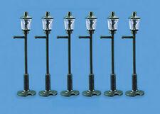 Modelscene 5004 8 x Gas Type Lamp Posts Plastic Kit '00' Gauge - 1st Class Post
