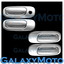 06-10 Dodge Charger+08-10 Challenger Triple Chrome plated 4 Door handle cover