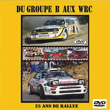 DVD Best of Gr.B + WRC 25 Jahre Rallye S1 Röhrl Escort Celica etc 60m APV 48TV