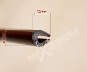 U Profil/ Kederband Kanntenschutz für Bleche ab 3 bis 5mm PVC Profil 2 Meter