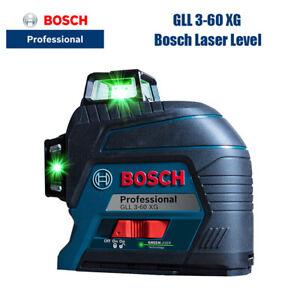 Bosch Laser Level GLL3-60XG 360 Grad Hochpräzises Grünes Licht 12 Line Level