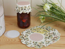 KATIE ALICE Cottage Flower JAM PRESERVE SEALING SET Vintage Style