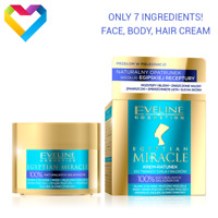 Eveline Cosmetics EGYPTIAN MIRACLE Cream Moisturiser For Face Body Hair 40ml
