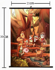 HOT Anime Gravity Falls  Wall Poster Scroll Home Decor Cosplay 1196