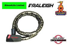Raleigh Armored Lock 110cm x 18mm Black ALA819