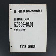 Kawasaki Parts Catalog Air-Cooled Engine FZ580G-BA01 KF150G-SX 316551 99910-2066