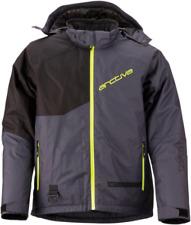Arctiva Mens Pivot 4 Jacket Black/Hi-Vis Snowmobile jacket Size Medium-2XL