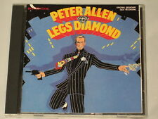 LEGS DIAMOND - CD - ORIGINAL BROADWAY CAST - PETER ALLEN